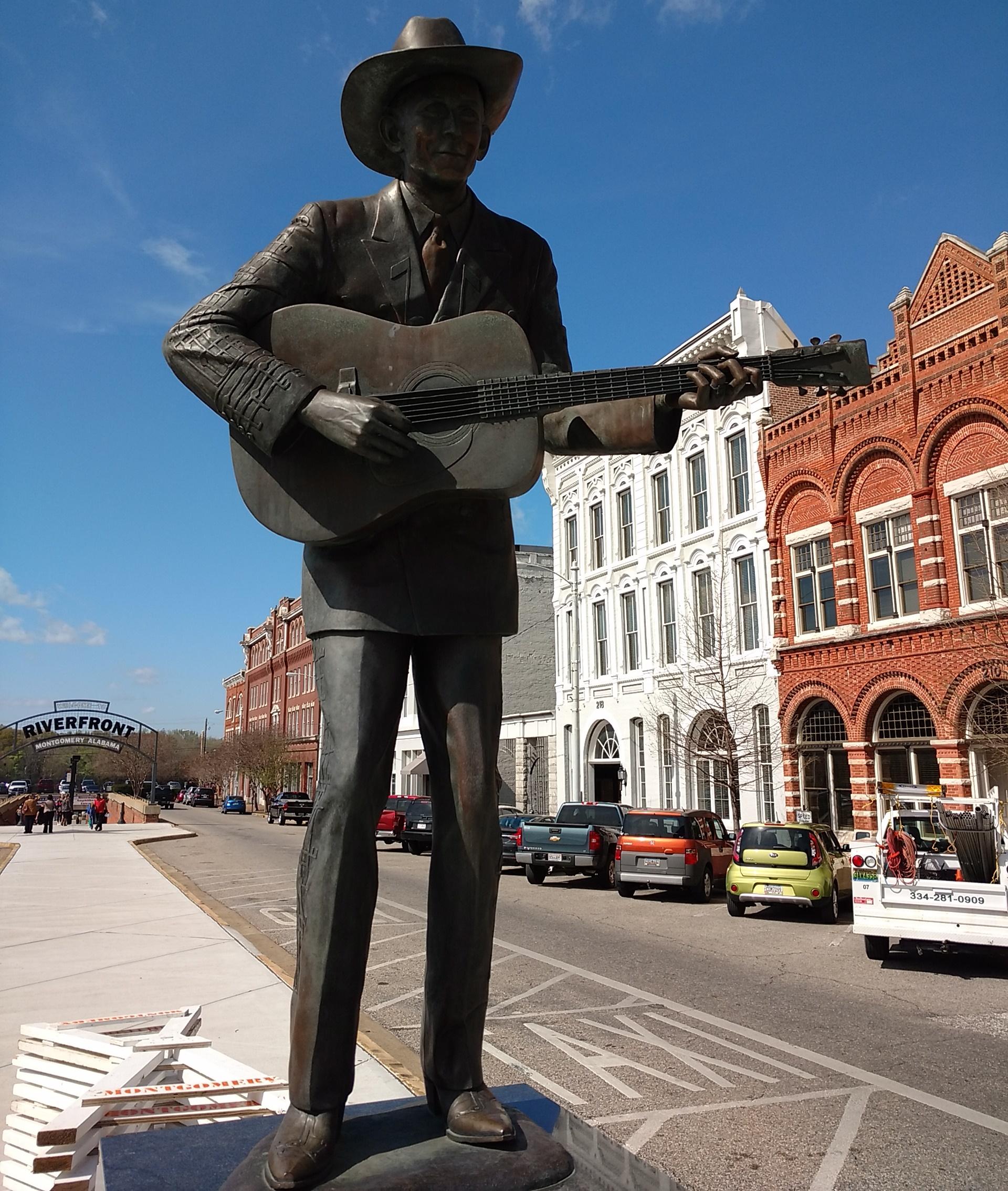 Montgomery-Hank-Williams-Statue-Van-Wersch-Writes