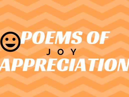 Poems of Appreciation: Joy