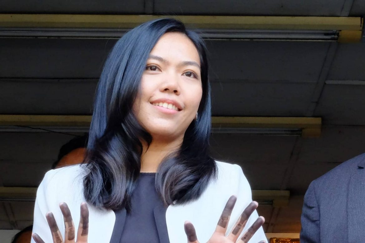 June, defending her right to stand up for others in Thailand